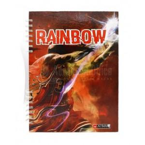 Registre à spiral AL SULTAN Rainbow, 3 Couleurs, A4