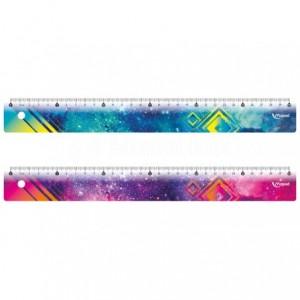 Règle Scolaire de 30 cm MAPED Cosmic, Plat