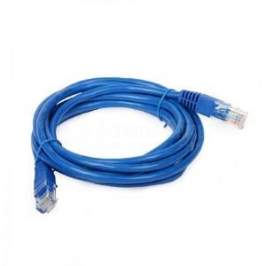 Câble Réseau D-LINK UTP Cat5e 24 AWG, rond 3m bleu