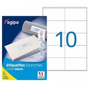 Rame autocollants AGIPA 1000 étiquettes