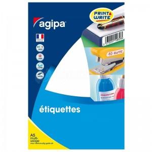 Rame autocollants AGIPA 280 étiquettes