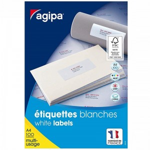 Rame autocollants AGIPA 3520 étiquettes