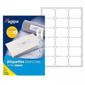Rame autocollants AGIPA 1800 étiquettes