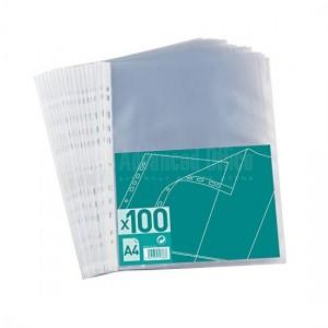 Rame de 100 Pochette perforée plastique A5 ESSELTE 43 Mic