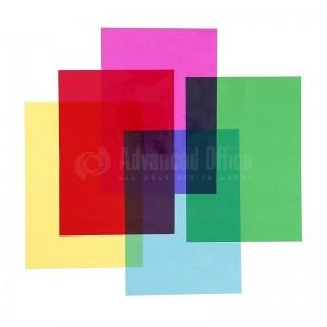 Feuilles papier Cellophane couleurs assorties 0.5*2m