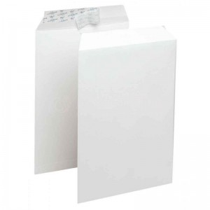 Boite de 250 enveloppes A4 blanche auto adhésive