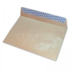 Paquet de 25 enveloppes pochette F23 C4 Kraft auto adhésive 229 x 324mm