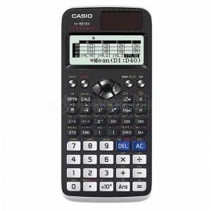 Calculatrice Graphique CASIO FX-991EX ClassWiz, affichage interactif, , 10 Chiffres + 2, 552 Fonctions basique, Tableur 5 colonnes x 45 lignes (170 éléments), Générateur QR code d'équations