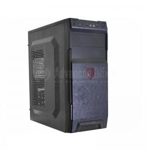 """Ordinateur de Bureau Montage, Boitier Barbone, Carte mère ENIGMA H81 DDR3 LGA 1150, Intel I7-4770 à 3.9GHz 8Mo de cache + Ventilo Intel original, 4Go DDR3 ENIGMA 1333MHz, 500Go SATA, DVD-RW LIETON, Noir, Ecran 19"""" ENIGMA"""