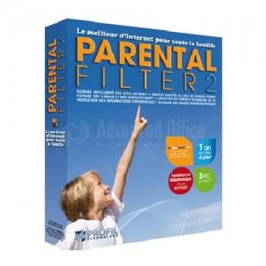 Filtre parental 2 (protection pour 3 postes)