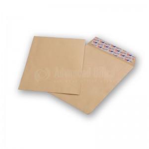 Pochette de 50 enveloppes F23 A4 Kraft auto adhésives 229 x 324 mm avec fermeture horizontal