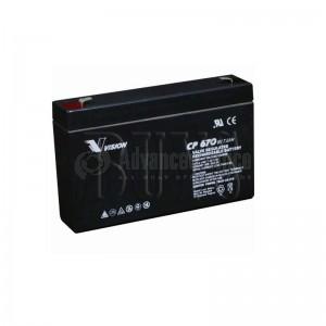 Batterie VISION pour onduleur 6V, 7Ah