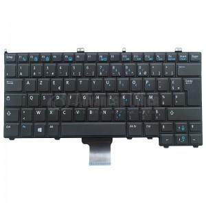 Clavier DELL 002XWN NSK-LDAUC PK130VM1A16 pour laptop Latitude E7240 / E7440, Azerty