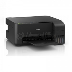 Imprimante Multifonction Jet d'encre EPSON EcoTank L3150 MEAF, Couleur, A4, 33ppm/15ppm, USB, WiFi et WiFi Direct Noir