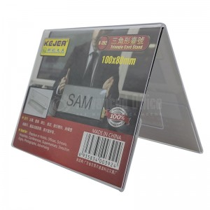 Présentoir carte KEJEA Tiangle Card Stand 100 x 80mm