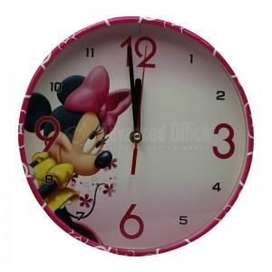 Horloge mural enfant CLOCK CY808, Rond 25cm, Multi motifs