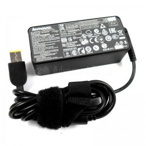 Chargeur Lenovo 45N0293 45N0491, 20V, 3.25A/2.25A 45W/65W, Connecteur Rectangle jaune pour laptop LENOVO UltraBook