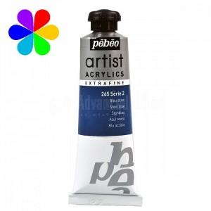 Tube peinture à huile PEBEO Fine Xl Bleu Acier 37 ml