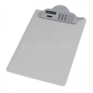 Clipboard DELI A4 avec calculatrice Gris