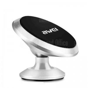 Support Auto Magnétique AWEI X6 fixation adhésif pour Smartphone et GPS