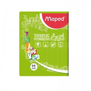 Cahier TP MAPED A4 Pique 64 Pages
