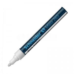 Marqueur à craie liquide SCHNEIDER Deco MAXX 265 2-3mm Blanc