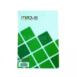 Bloc notes MODUS A5 Piqué Quadrillé 70 pages