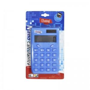 Calculatrice de poche scolaire GOLDEN 88001 Nano calculatrice 8 Chiffres, Bleu