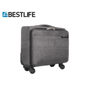 """Valise porte PC à roulettes BESTLIFE BT-3251G 15.6"""" Gris"""