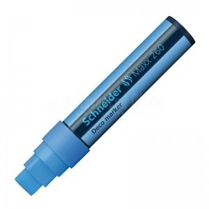 Marqueur à craie liquide SCHNEIDER Deco MAXX260 5+15mm Bleu
