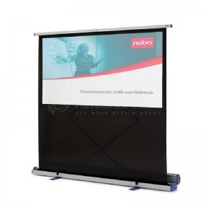 Ecran de projection NOBO portable 160x120cm