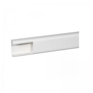 Goulotte LEGRAND DLP monobloc 1 Compartiment 80 x 35mm Par Mètres (Barre Langueur max 2m), Blanc