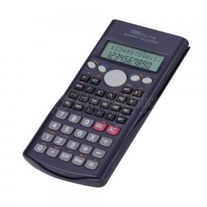 Calculatrice scientifique DELI 1710(10 chiffres + 2 exposants) 2 Ligne 240 Fonctions