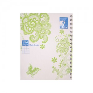 Note book EL HILLAL 17*22 288 Pages PF