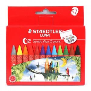 Boite de 12 crayons de cire STAEDTLER Luna
