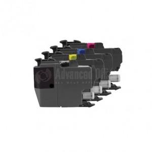 Pack de 3 cartouches d'encre INKWELL compatible LC3217 C/Y/M pour BROTHER MFC-J5330DW/ J5335DW/ J5730DW/ J5930DW/ J6530DW/ J6930DW/ J6935DW, 550 pages