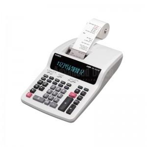 Calculatrice à ruban CASIO DR-120TM 12 chiffres Blanc