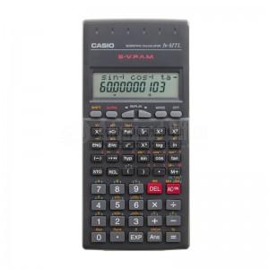 Calculatrice Scientifique CASIO fx-82TL, 2 lignes (10 chiffres + 2 exposants)