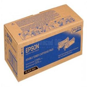 Pack de 2 toner EPSON Noir pour C2900