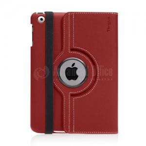 Support et étui mince rotatif à 360° TARGUS VuScape pour iPad mini Rouge