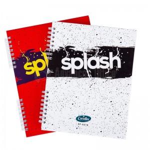Registre à spiral EXCELLES Splash A5 17 x 22