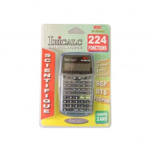 Calculatrice IBICALC SC225MG scientifique 224 Fonctions