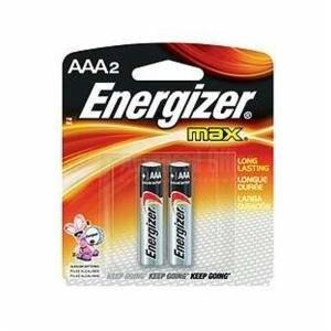 Jeu de 2 piles alcaline ENERGIZER LR3 AAA