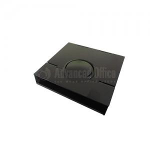 Porte papier note noir