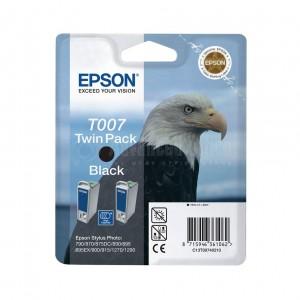 Pack de 2 Cartouche EPSON T007 noir pour imprimantes 790/870-5-90-5/900-15