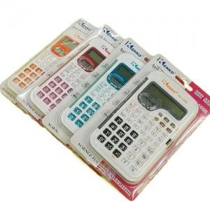 Calculatrice Scientifique KENKO 105B Couleur sous blister