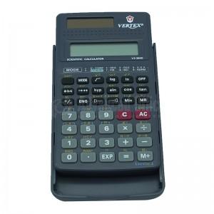 Calculatrice scientifique VERTEX VS-304D 139 Fonctions (10 chiffres + 2 exposants)