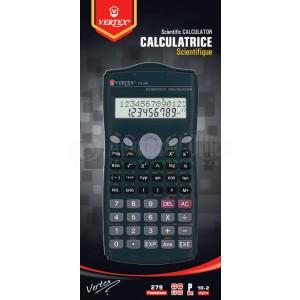 Calculatrice scientifique VERTEX V.S-302, 279 Fonctions(10 chiffres + 2 exposants)