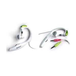 Ecouteur microphone A4TECH avec croché Blanc