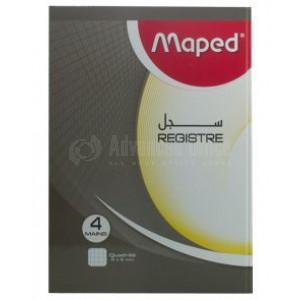 Registre MAPED 5 mains A4